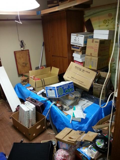 新潟県新潟市/一軒家(施設入居後のかたづけ)