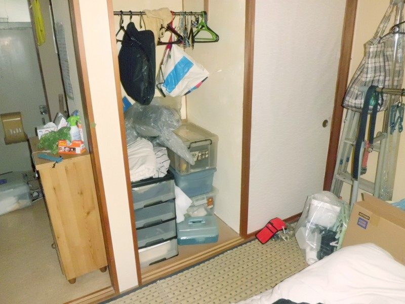 新潟市西区/遺品整理(アパート)