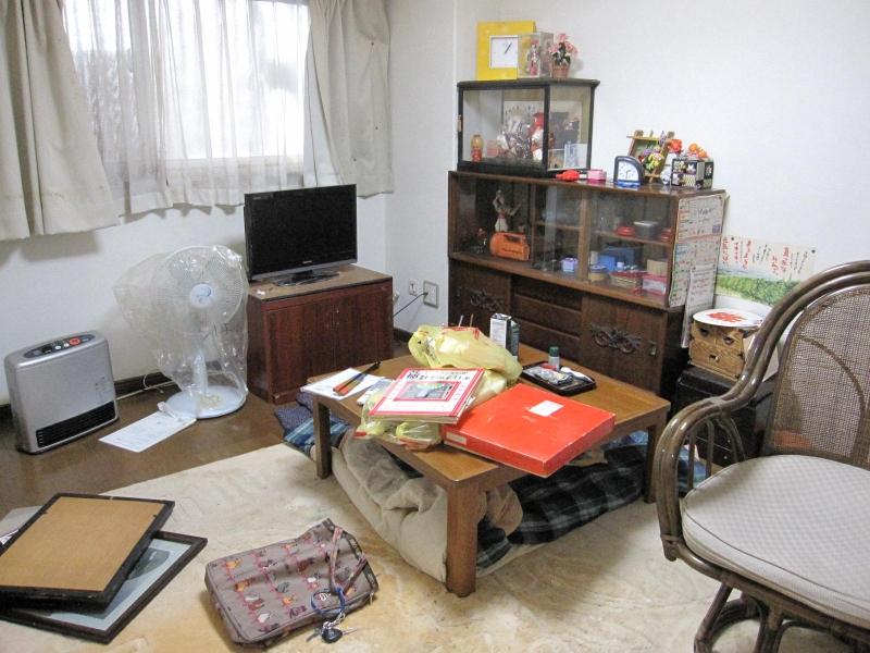 新潟県新潟市/遺品整理(市営住宅)