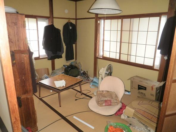 新潟県燕市/引越し後の片付け(施設入居)