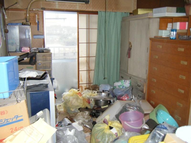 新潟県新潟市東区/大量の不用品処理(アパート)