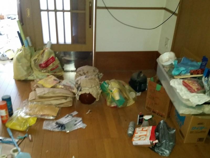 新潟県胎内市/引っ越し後のかたづけ