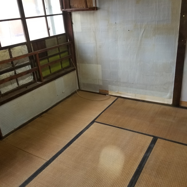 新潟県/燕市/持ち家/解体前の遺品整理