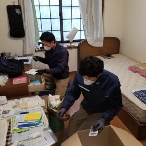 新潟県三条市にて空き家整理を行いました。
