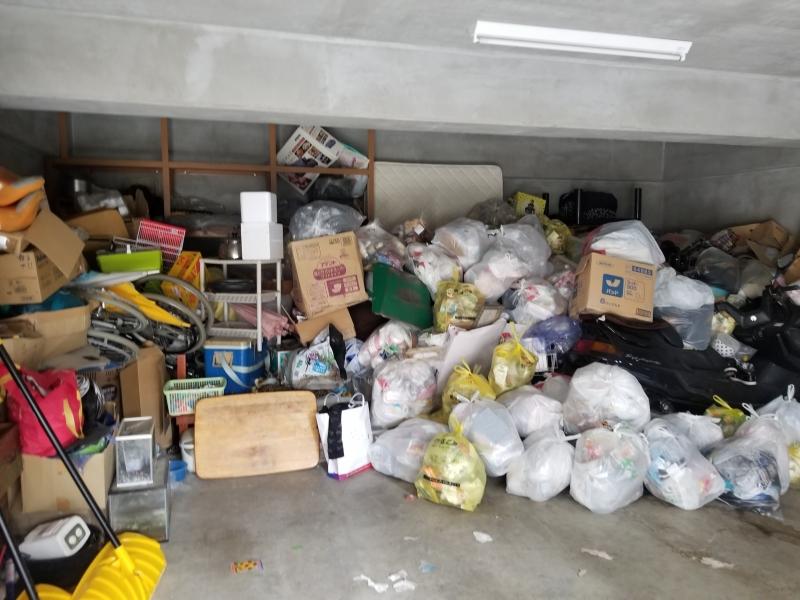 新潟県長岡市/溜め過ぎてしまった……。車庫・大量の不用品処理