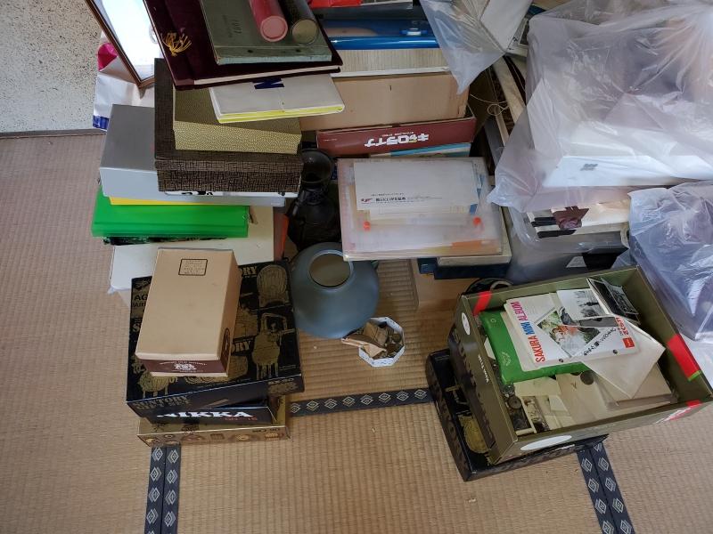 長岡市にて6DKの空き家/大量の荷物の整理を致しました。