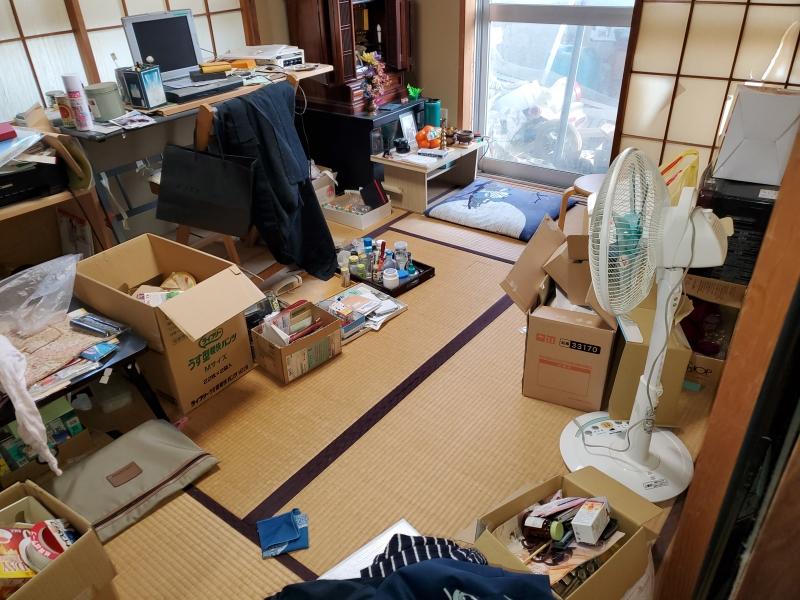 新潟県新潟市/遺品整理 賃貸男性1人暮らし DIY好き