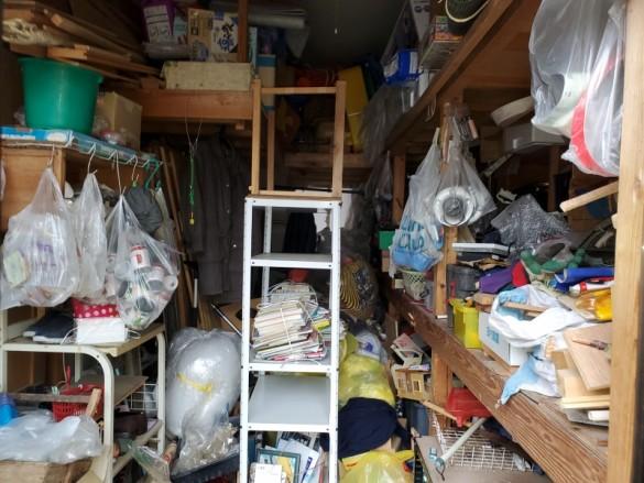 新潟市/リフォーム前の一軒家おかたづけ