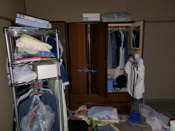新潟市団地3階/施設入居に伴うかたづけ整理