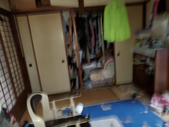 新潟市一軒家の空き家のかたづけ整理