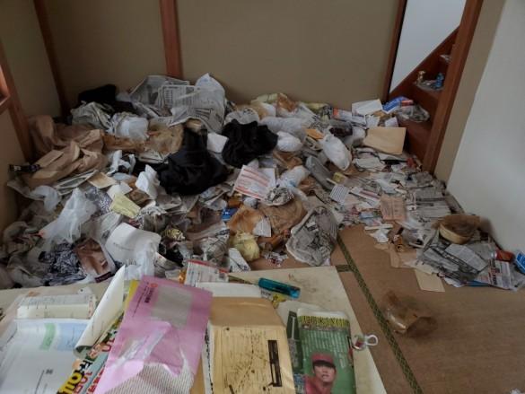 新潟市ゴミ屋敷のかたづけ