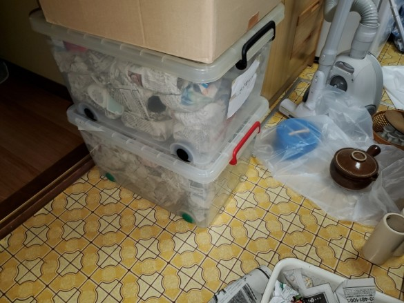 柏崎市で一軒家の遺品整理を対応さえていただきました。