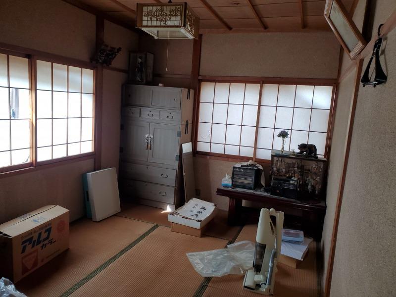 新潟県長岡市/空き家整理作業(解体予定)