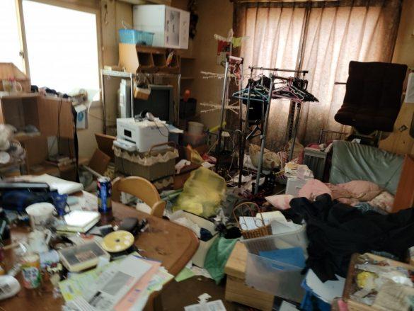 新潟市北区一軒家の売却前のおかたづけを致しました。